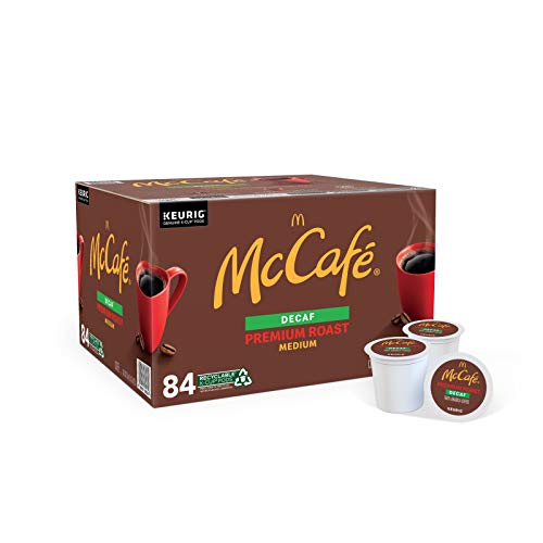 McCafé Decaf Premium Medium Roast K-Cup Coffee Pods (84 Pods)