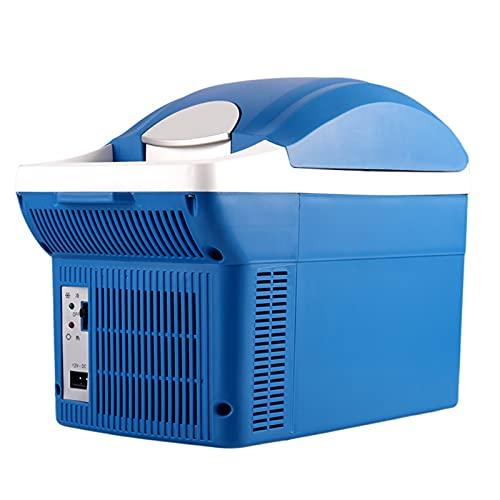 YICHEN Mini Refrigerador 12V Mini Refrigerador Más Frío Y Más Cálido Refrigerador Eléctrico Portátil para El Hogar, Dormitorio, Coche, Vacaciones, Maquillaje De Bebidas para Alimentos