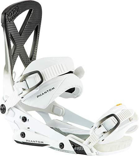 Nitro Snowboards Phantom Fijaciones de Snowboard Nitro, Hombres, Black White, L
