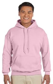 Gildan Men s Heavy Blend Drawcord Hooded Sweatshirt XXX-Large Light Pink