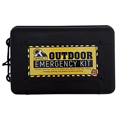 Dasico Emergency Survival Kit Ultimate Tactical Tools for Wilderness Activities Keep Yourself Safe in Extreme Outdoor Situation by Dasico