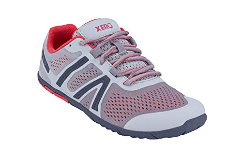 Xero Shoes Women's HFS Running Shoes - Zero Drop, Lightweight & Barefoot Feel, Silver Blush, 7.5