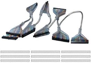 "QVS SCSI 80"" IDC50 Seven Drives Translucent Silver Round Internal Cable"