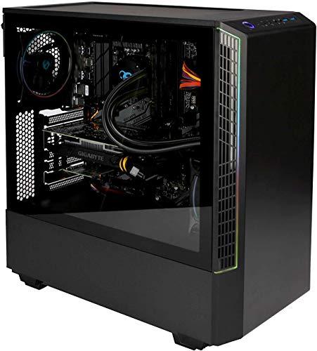 CoolBox DeepGaming Havak Ordenador Gaming de sobremesa A-RGB (Intel Core i7-9700, 8GB RAM, 240GB SSD 1TB HDD, Nvidia GTX1650 4GB DDR5, Windows 10 Pro preinstalado) Color Negro