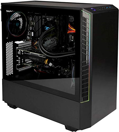 DeepGaming Havak - Ordenador Gaming de sobremesa A-RGB (Intel Core i7-9700, 32GB RAM, 240GB SSD + 2TB HDD, Nvidia GTX1650 4GB DDR5, Windows 10 Pro preinstalado) Color Negro