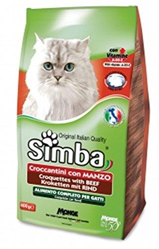 Monge Simba Croccantini Gatto Manzo - 20 kg