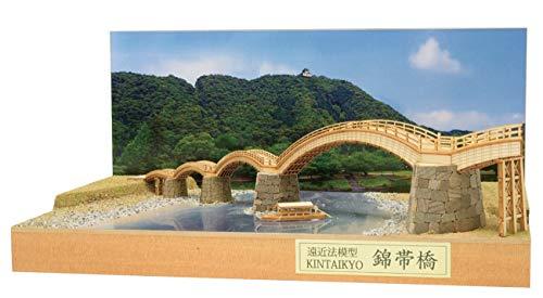 ウッディジョー パースモデル 錦帯橋 木製模型 組み立てキット
