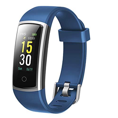 Lintelek Pulsera Actividad Impermeable, Reloj Inteligente con Pulsómetro y Tensiómetro, Reloj Deportivo con GPS Compatible a Android y iPhone
