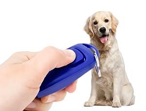 Clicker chien sifflet clicker Training chien éducation LED Balle de balle pour chien Balle à picots avec effet de lumière LED Neuf de la marque PRECORN
