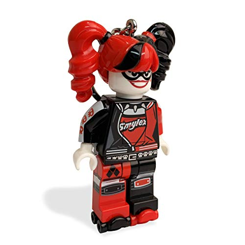 LEGO - Harley Quinn, llavero linterna (LGL-KE107) , color/modelo surtido