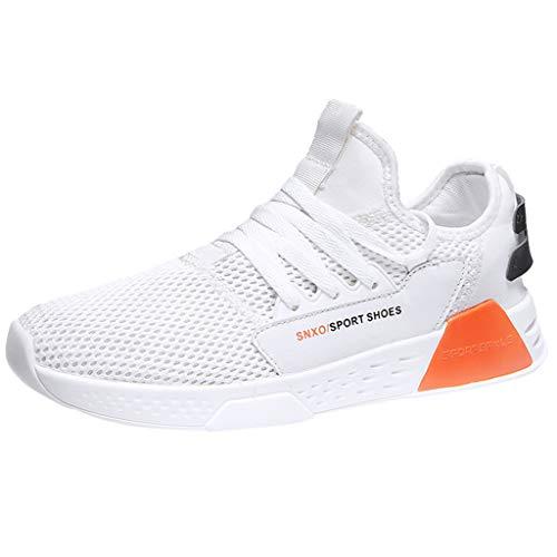 JiaMeng Zapatos de Baloncesto para Hombre Zapatos Deportivos con Cordones Zapatillas Ligeras Antideslizantes para Correr Aire Libre y Deporte Transpirables Casual Zapatos Gimnasio Correr Sneakers
