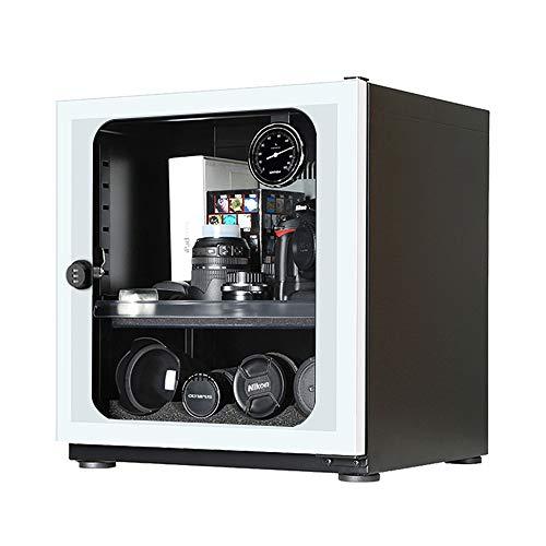 Spolehli - Deumidificatore a secco per macchina fotografica a controllo elettronico 56L con design alla moda per obiettivo della fotocamera, attrezzatura elettronica, timbro per tè, gioielli (bia