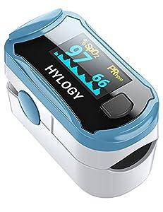 ❤FDA y CE aprobados❤ HYLOGY Oxímetro viene con buena calidad y alta aplicabilidad, que ha sido certificado por profesionales de la salud. Mide con precisión la SpO2 y el pulso en unos 8 segundos ❤Fácil de usar❤ Sólo es necesario que los usuarios pong...