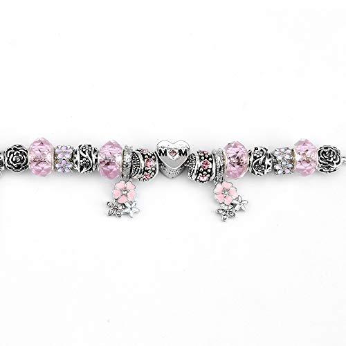 ChuangYing Europäische und amerikanische Kristall Armband DIY Perlen Lady Popular Bead Armband