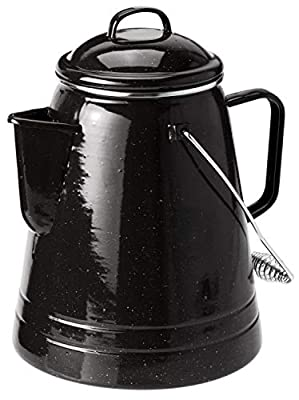 GSI Outdoors 36 Cup Coffee Boiler Design to be Sturdy for The Campsite, RV or Farmhouse Kitchen