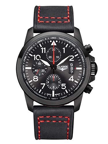 Elysee 80575 - Executive II Chronograph mit Schweizer Uhrwerk ETA Valjoux 7750 - Made in Germany