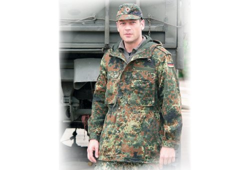 ORIGINAL BW Bundeswehr FELDPARKA Flecktarn NEUWARE ! (16)