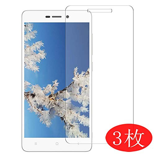 【3 Pack】 Synvy Screen Protector for Xiaomi Redmi 3s TPU Flexible HD Clear Case-Friendly Film Protective Protectors [Not Tempered Glass] New Version