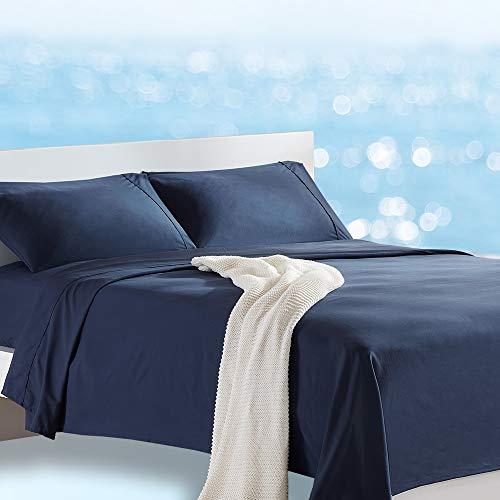 SLEEP ZONE Bed Sheet Set Cooling with Nanotex...
