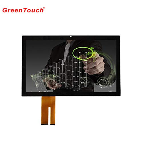 GREENTOUCH 30,7 cm Touch Panel PCAP Kapazitive Touchscreen Multi Touch Glas USB Treiberlose