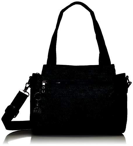 Kipling Women's Elysia Crossbody Bag, Blue Eclipse Print, Medium