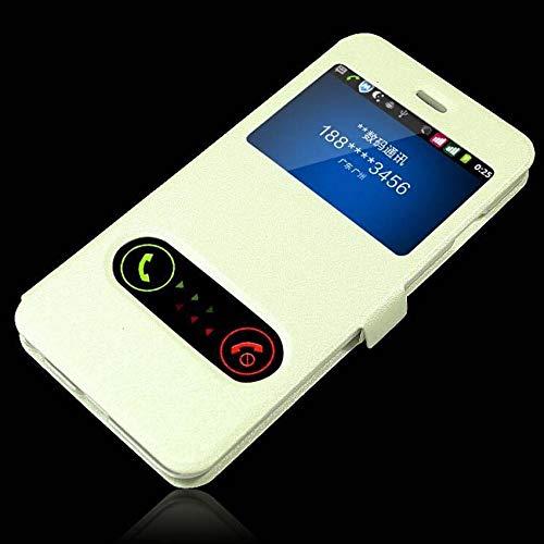 HHF Teléfono móvil Accesorios para el Caso de Huawei P8 P9 P10 P20 compañero 9 10 20 Nova 2 2s 3 3e 3i Pro Lite Plus 2017 de FILP de Windows Cuero Teléfono Cubierta del Caso