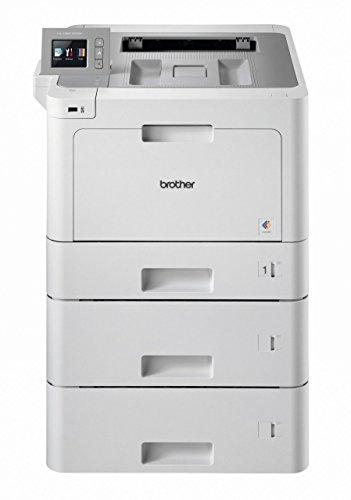 Brother HL-L9310CDWTT W-LAN Farblaserdrucker (mit Duplex, 2400 x 600 dpi, 31 Seiten/Min.) weiß/grau