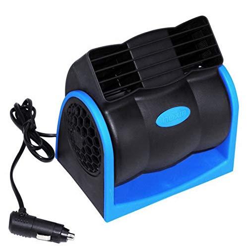 Ventilador de enfriamiento de aire sin cuchilla del aire acondicionado del verano de poco ruido del vehículo del coche 12V