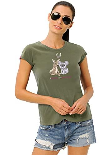 Australia Shirt (Farbe: Olive; Größe: M)