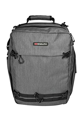 Monolith 2000009112 Laptop Backpack 17 Inches Model 9112 34 x 16 x 46 cm Grey/Black