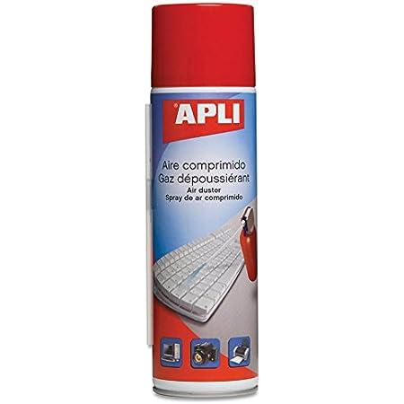 APLI 11297 - Limpiadora de aire comprimido para ordenador (400 ml)