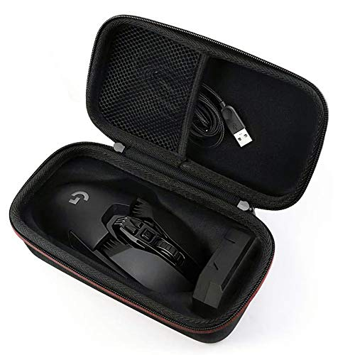 BTONE Hard Case for Logitech G502 Mouse Proteus Spectrum RGB Tunable Wireless Gaming Mouse (Black)