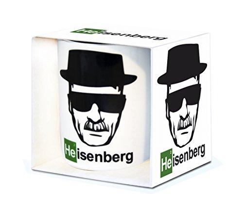 Logoshirt Serie TV - Breaking Bad - Heisenberg - Tazza di Porcellana - Multicolore - Design Originale Concesso su Licenza
