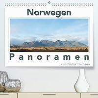 Norwegen - Panoramen (Premium, hochwertiger DIN A2 Wandkalender 2022, Kunstdruck in Hochglanz): Breitbandfotos aus Norwegen (Monatskalender, 14 Seiten )