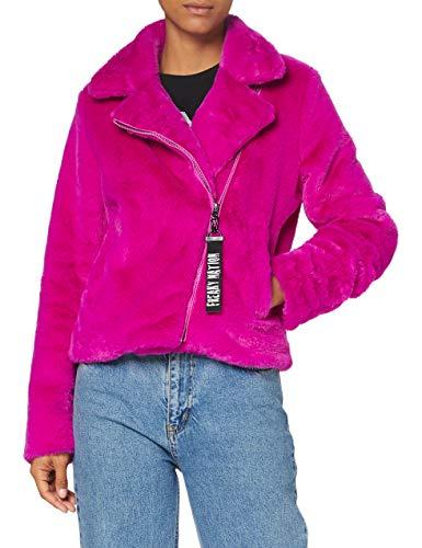 Freaky Nation Damen Plush Ball-FN Jacke, pink, S