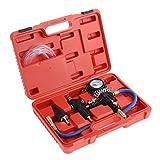 Purga de refrigerante vacío relleno Set Auto coche recarga Kit Universal radiador bomba de vacío refrigerante sistema depuración herramienta de relleno de enfriamiento