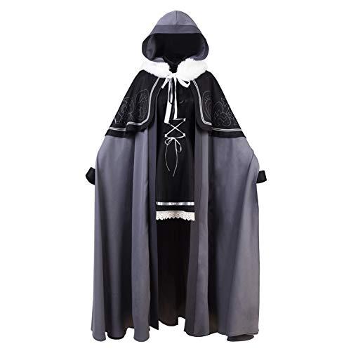 COSEASY Fate/Grand Order FGO Dress Cosplay Costume Halloween Full Set Suit Cloak (Wig, Wig)