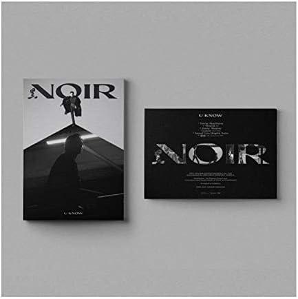 TVXQ 開催中 U-Know 信憑 Noir 2nd Mini Album Set CD+1p Folding Version Pos 2