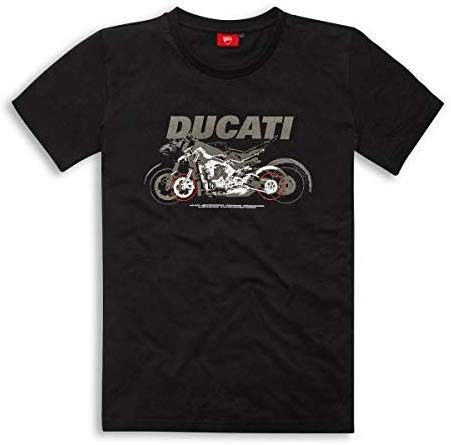 Ducati Graphic Shades T-Shirt Größe M