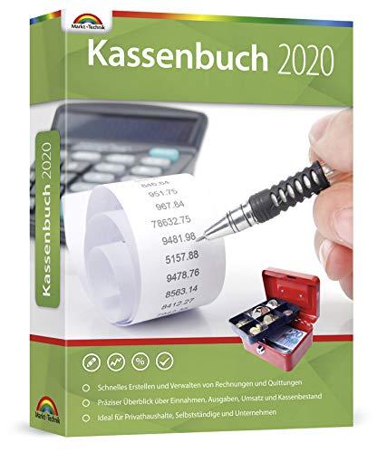 Kassenbuch 2020 / 2021 - lebenslange Laufzeit - Einnahme und Ausgabe für Unternehmer / Selbstständige / Privat für Windows 10 / 8.1 / 7
