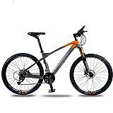 Tbagem-Yjr 27,5 Pulgadas Bicicletas De Montaña De Doble Suspensión, Bicicleta Unisex De Cercanías...