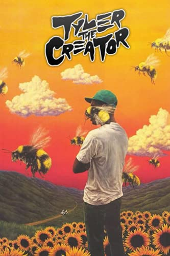 Tyler, The Creator Notebook: Great Notebook for School or as a Diary, Lined With 110 Pages. Notebook that can serve as a Planner, Journal, ... Drawings. (Tyler, The Creator Notebooks)