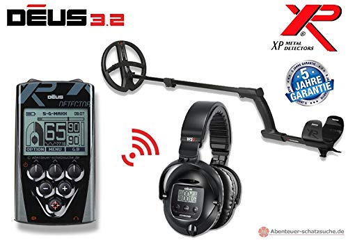 XP DEUS X35 22 RC WS5 Komplett-Set