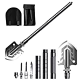 Camping Shovels Foldable, Multitools Military Folding Survival Shovel Portable Camping Shovel Kit