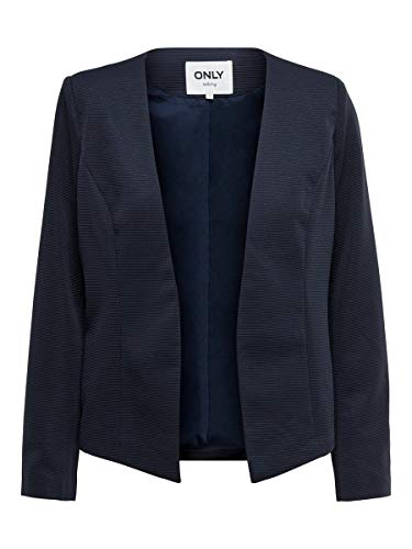 ONLY Damen Blazer Kurzer 36Night Sky