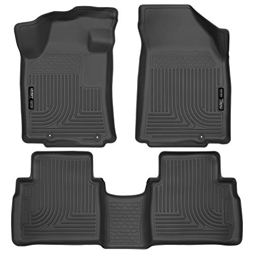 Husky Liners 99621 Weatherbeater Front & 2nd Seat Floor Liners Fits 2016-19 Nissan Maxima 1999 Exclusive Car Mats