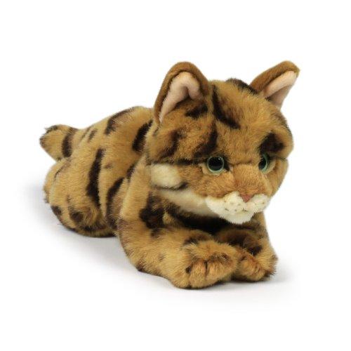 WWF Plüsch Kollektion WWF14774 - Plüschfigur Bengalische Katze 22 cm, Plüschtiere
