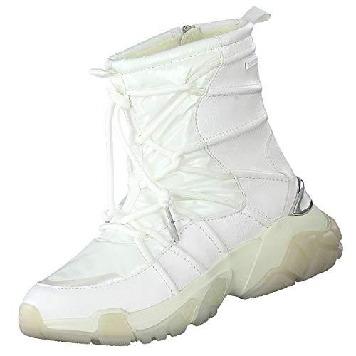 Tamaris Damen Duo TEX Stiefel gefüttert Weiß, Schuhgröße:EUR 39