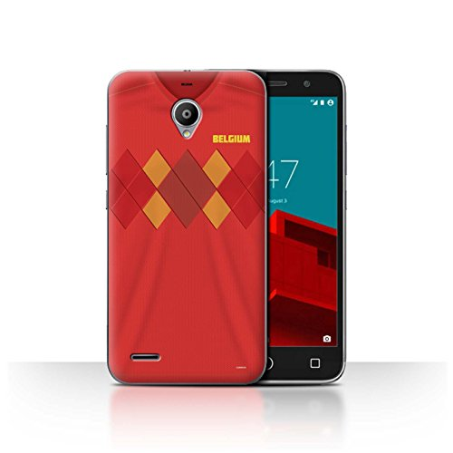 Stuff4® Phone Case/Cover/Skin/VD-CC/World Cup 2018 Football Shirt Collection Vodafone Smart Prime 6 België/Belgisch