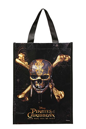 Disney Pirates of The Caribbean Tote Bag, Multicolor, One Size